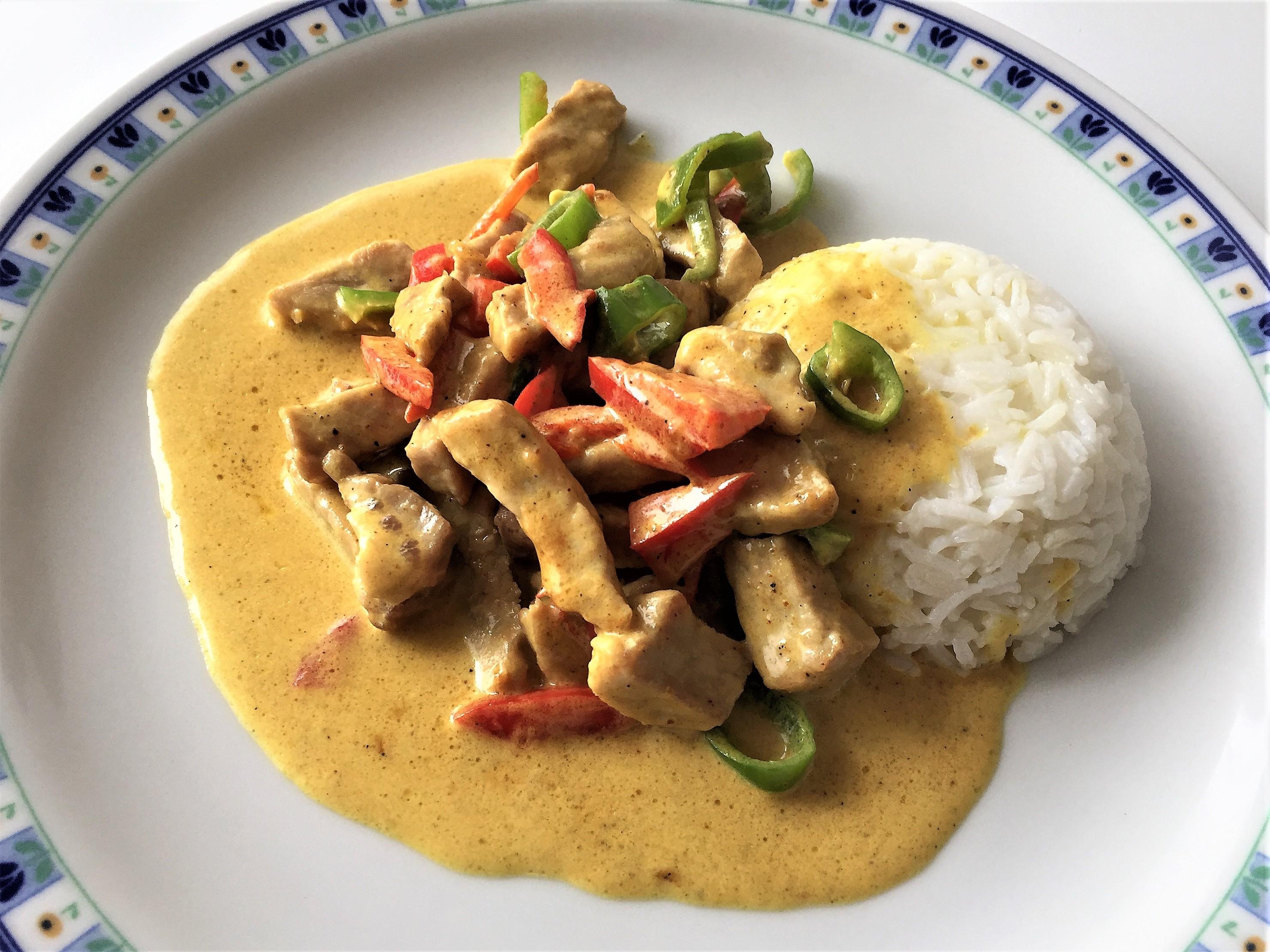 Lombata di maiale al curry