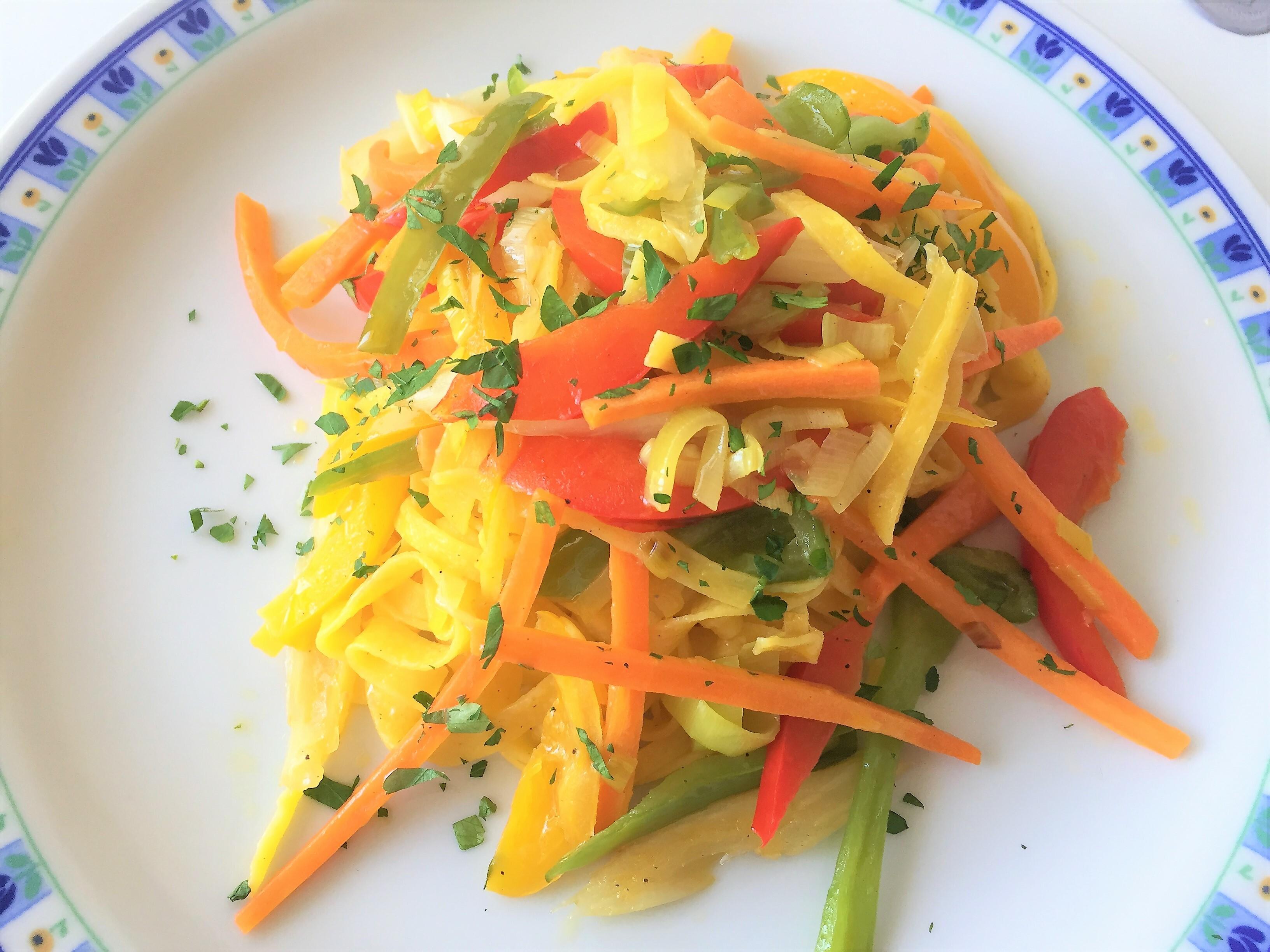 Tagliolini-alle verdure