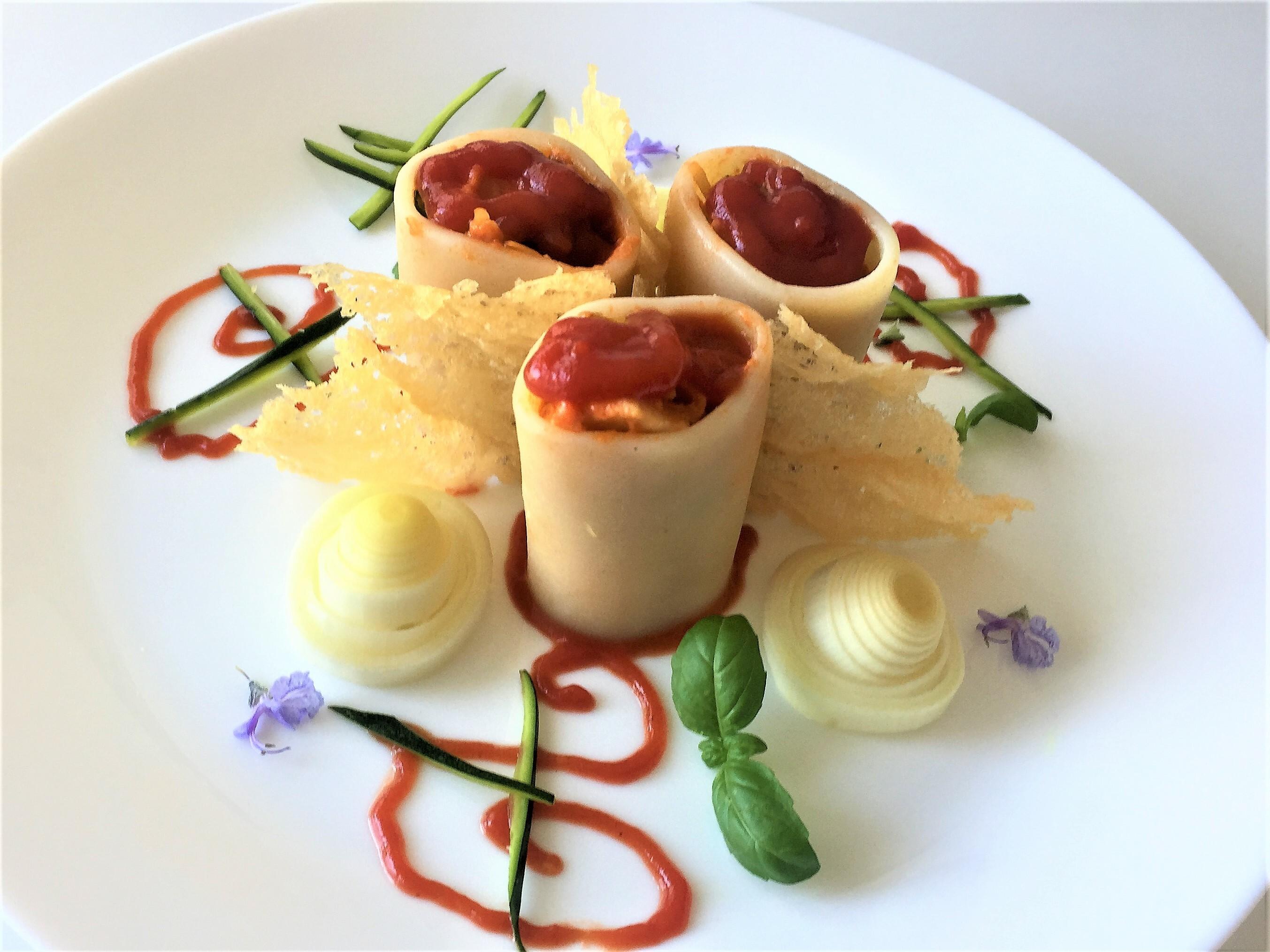 Paccheri-con-zucchine-e carciofi