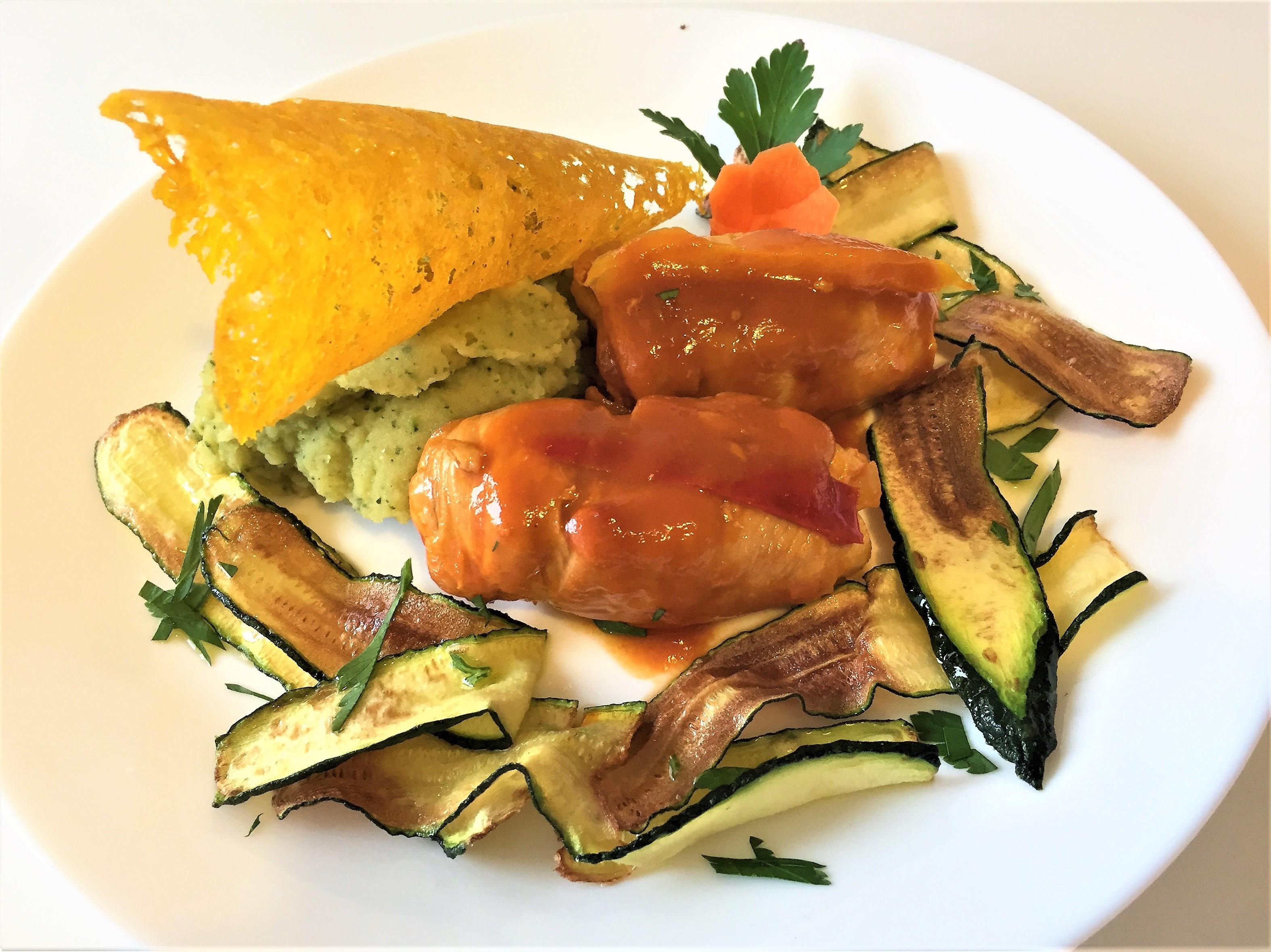Involtini-di-pollo-con-zucchine-e pancetta