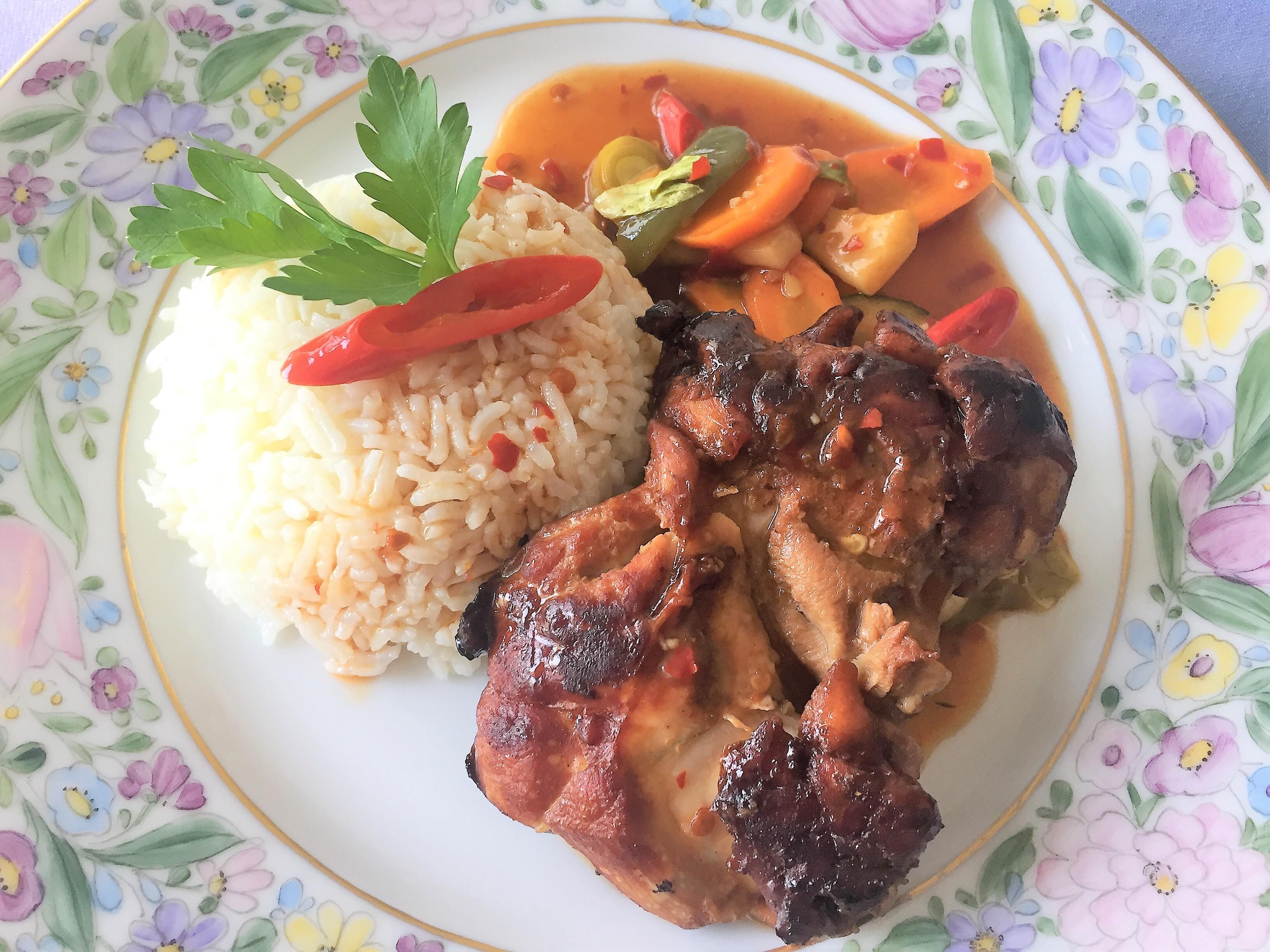Pollo-alla-soia