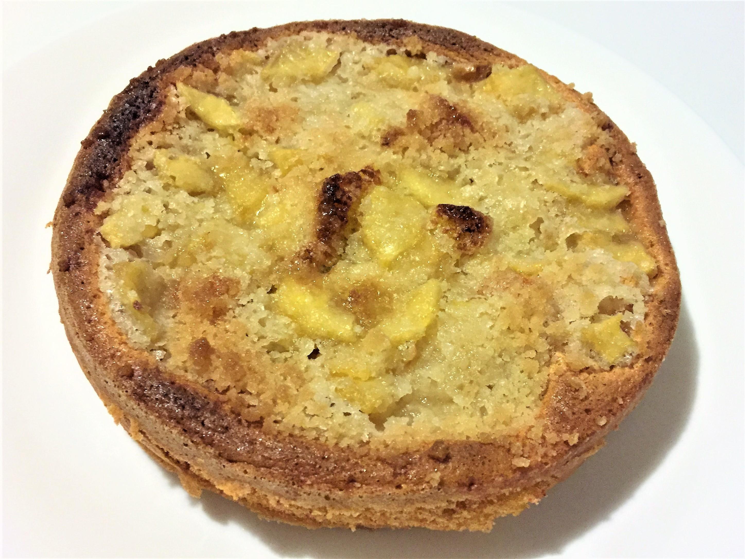 Torta di mele con crosta di zucchero