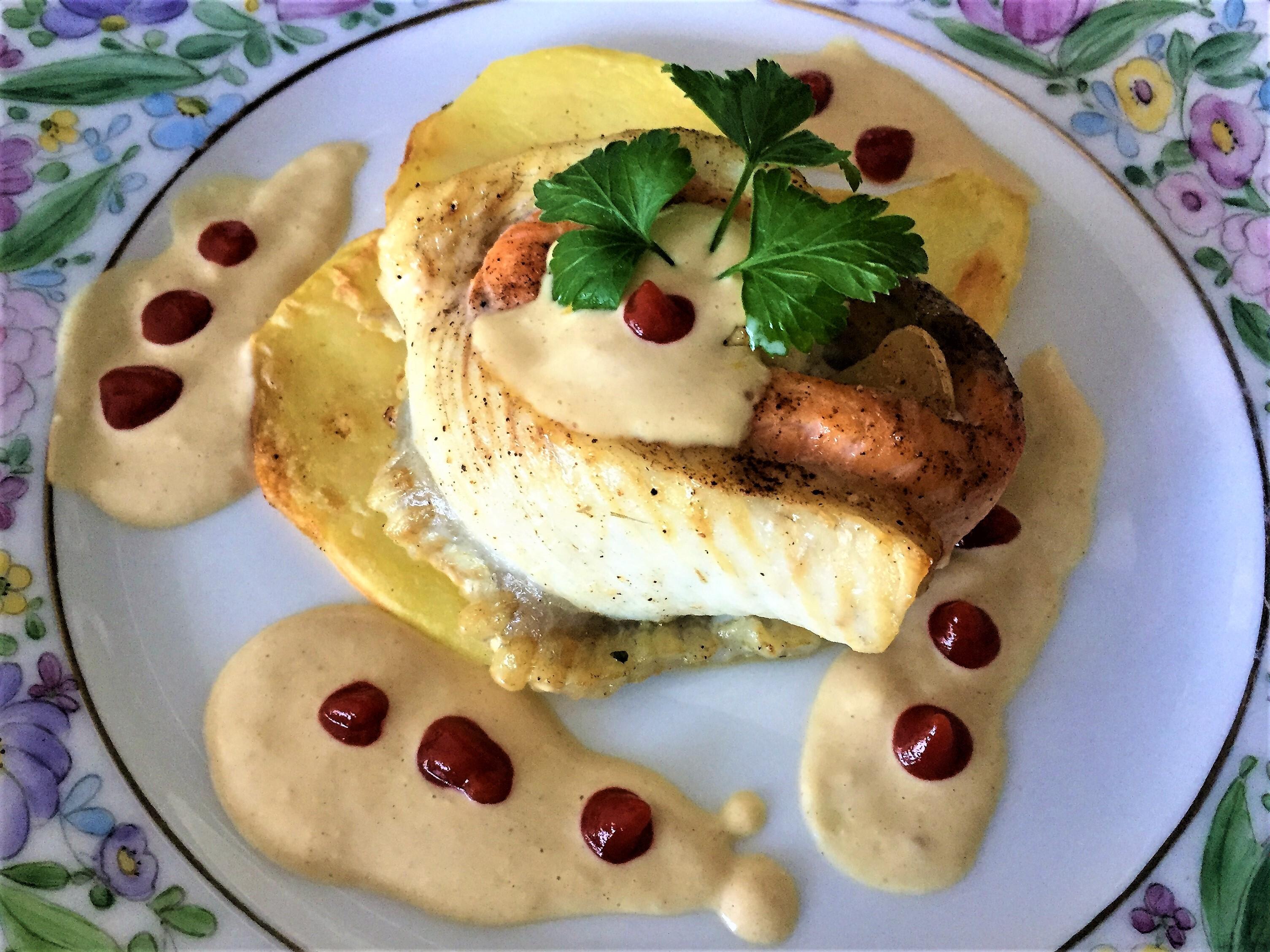 Rotolino-di-rombo-e-salmone-alla-senape