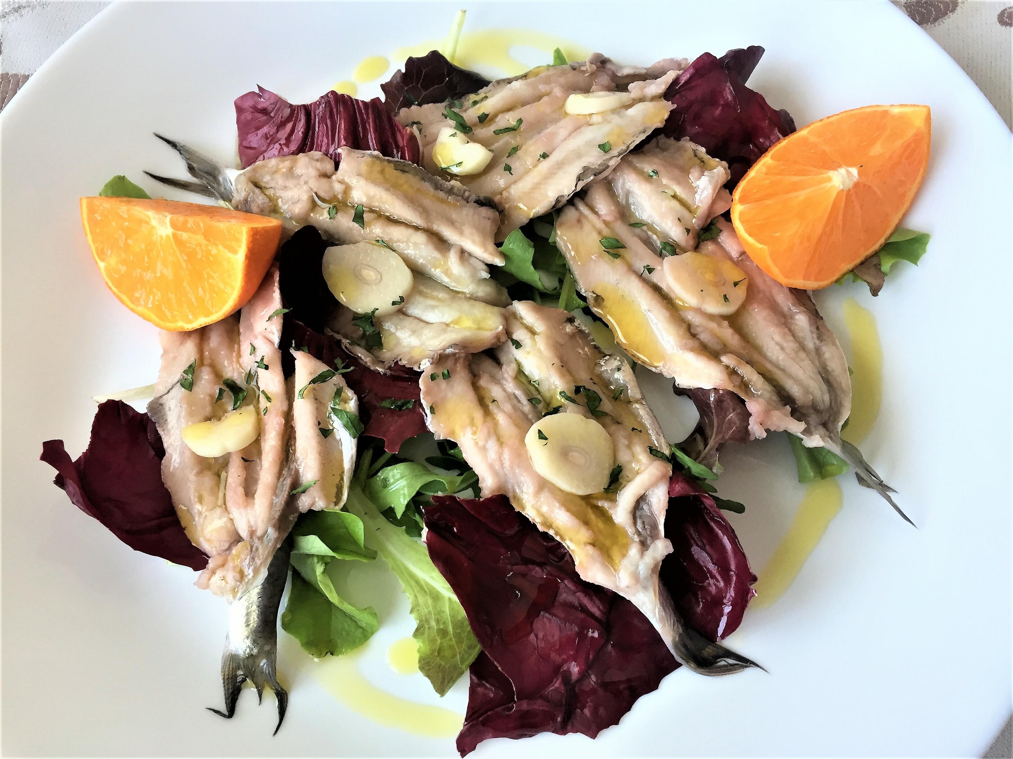 Sardine-marinate