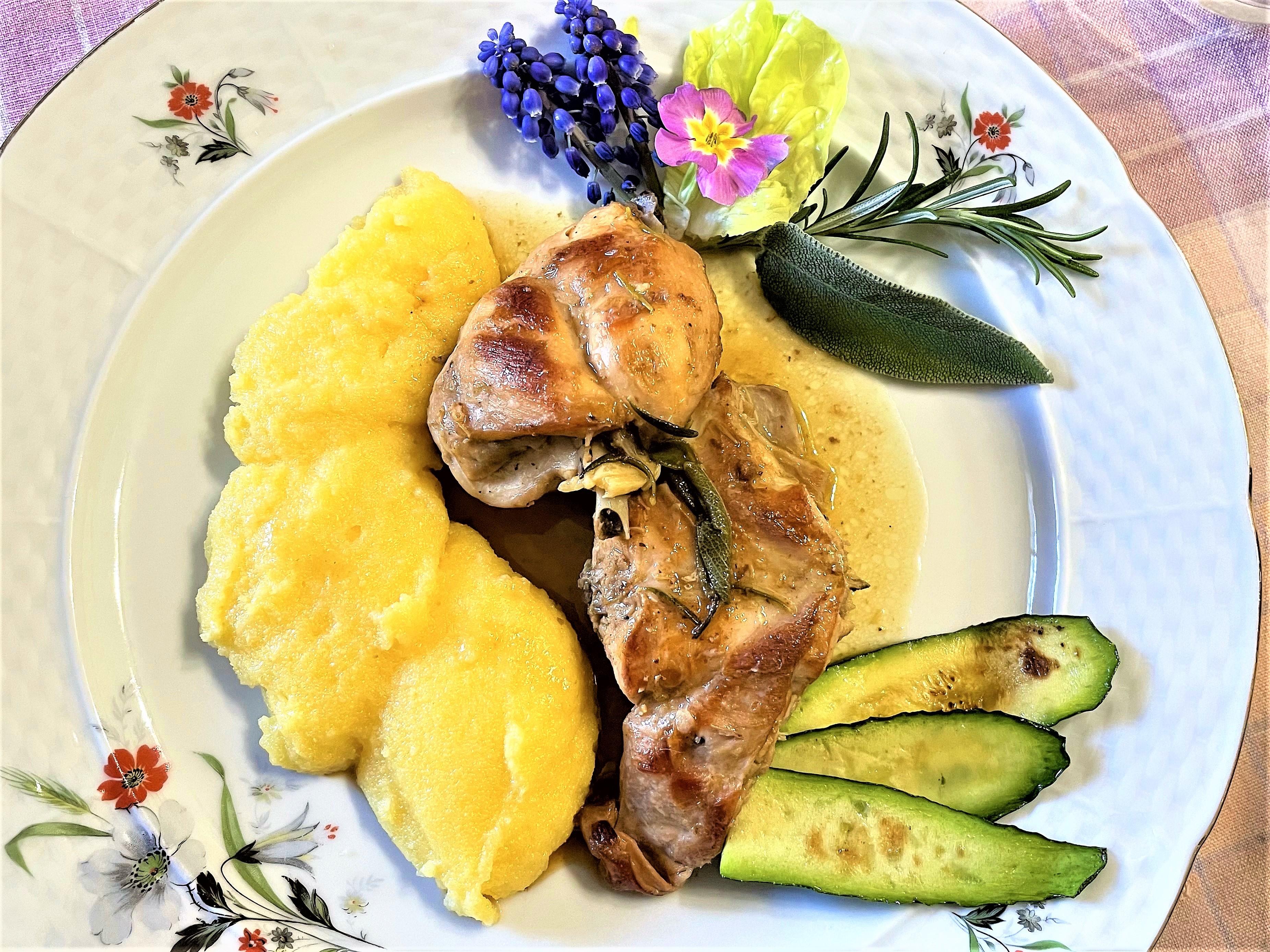 Coniglio-con-polenta-alla-contadina