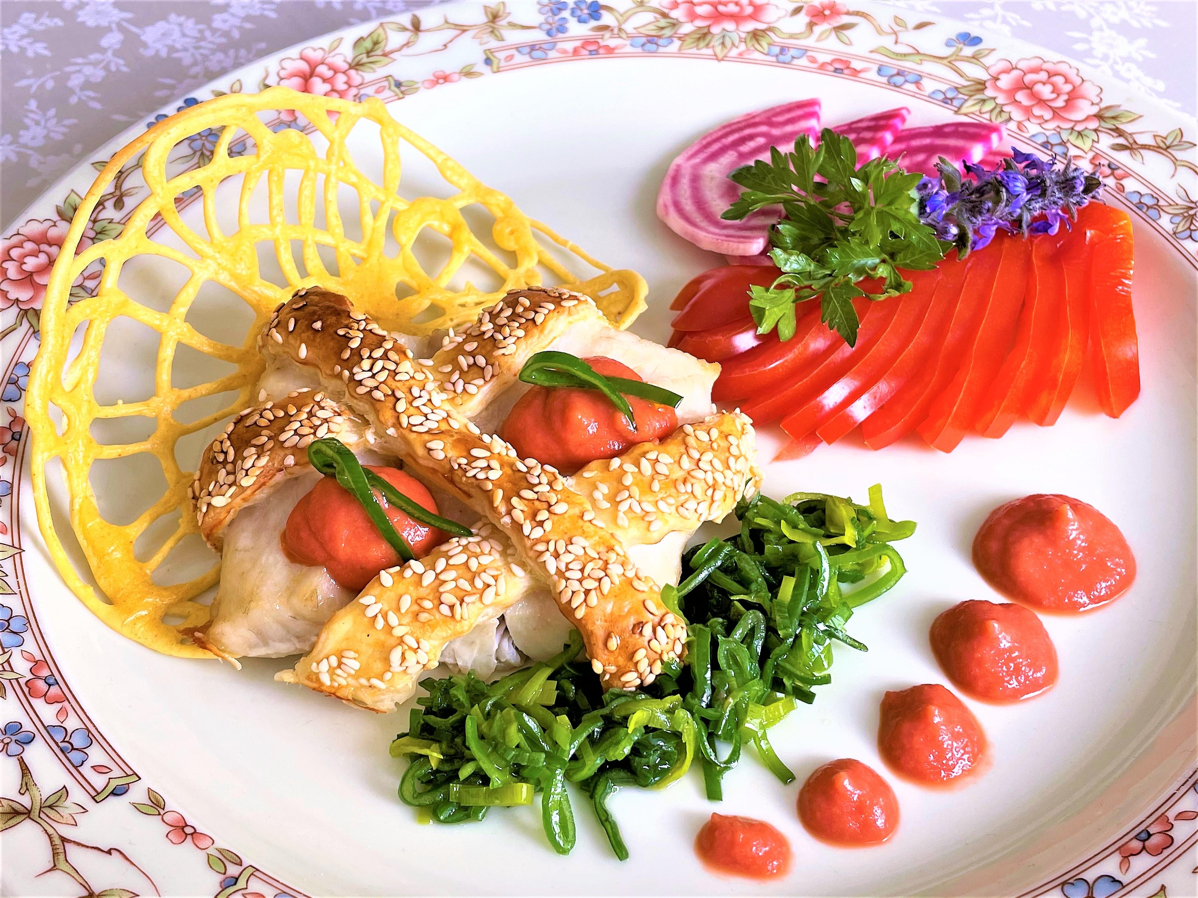 Filetto-di-persico-in-sfoglia-al-sesamo